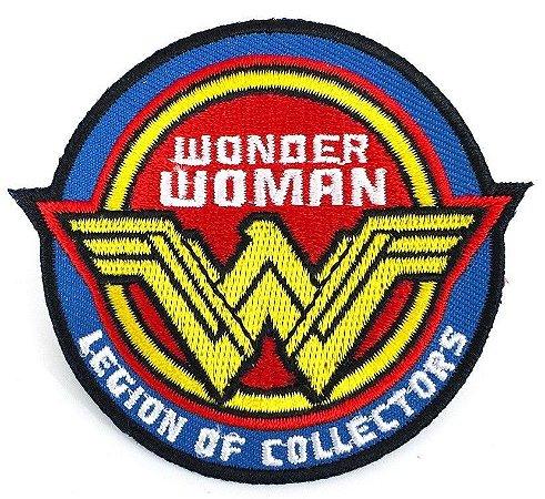 DC Patch Bordado Wonder Woman Legion of Collectors Souvenir