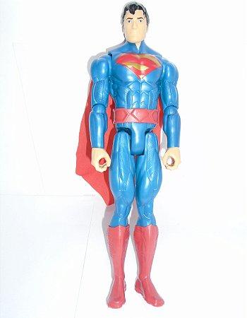 Mattel DC Novos 52 Boneco Superman (Super-Homem)  29cm Loose