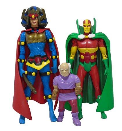 Mattel DC Direct Senhor Milagre Oberon Grande Barda 3 Pack Loose