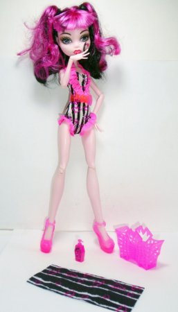 Mattel Monster High Draculaura - Aula de Natação Loose
