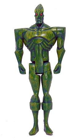 Mattel DC Liga da Justiça JLU Ajax 3 Loose