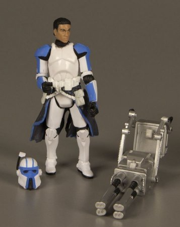 Hasbro Star Wars Legacy Collection Heavy Gunner Clone Trooper