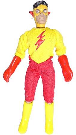 Figures Toy Company Retro DC Kid Flash Estilo Mego Loose