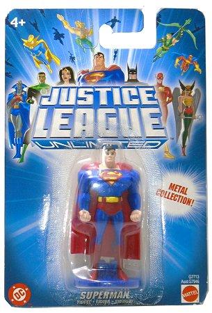 Mattel DC Liga da Justiça JLU Superman (Super-Homem) Metal Collection