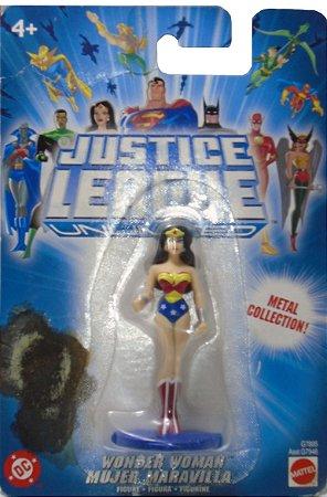 Mattel DC Liga da Justiça JLU Wonder Woman (Mulher Maravilha) Metal Collection