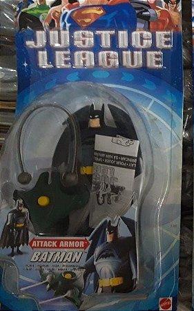 Mattel Liga da Justiça JLU Batman Attack Armor - Não Lacrado