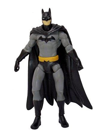 DC Universe Batman Uniforme Preto e Cinza Loose