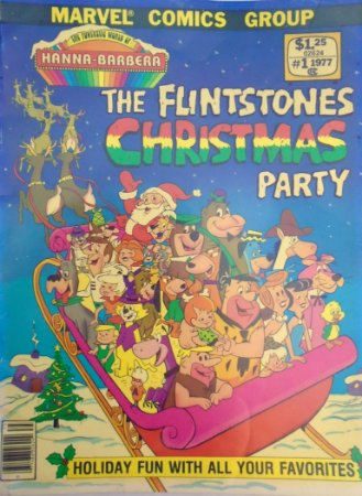 Marvel Comics The Flinstones Christmas Party 1977