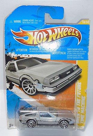 Hot Wheels De Volta Para o Futuro Time Machine Delorean 1/64