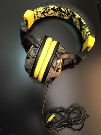Bioworld DC Batman DJ Stereo Headphones