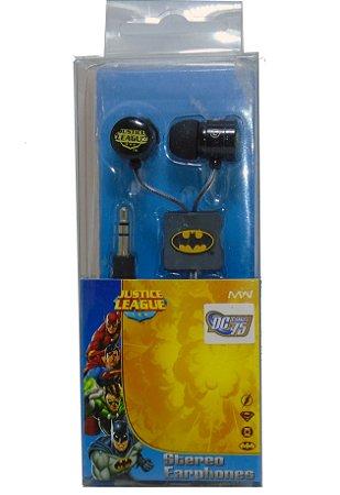 DC Comics Liga da Justiça Stereo Earphones iPhone ipad 4 / 4S / 5 / 6 /7 / S3