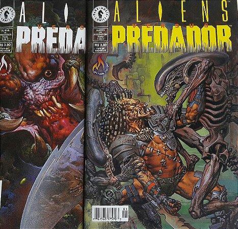 Aliens Versus Predador Ed. Mythos