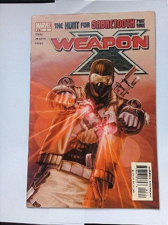 Weapon X #3 importado