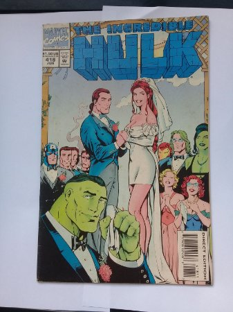 The Incredible Hulk #418 Importado