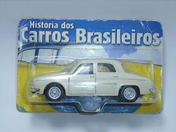 Carros Brasileiros Willis Dauphine Gordini 1961