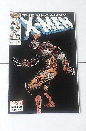 Uncanny X-men #213 Importado Re-Edição Marvel Legends