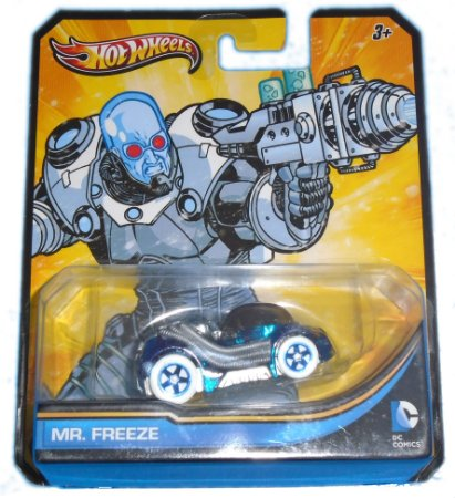 Hot Wheels DC Batman Mr Freeze (Senhor Frio) 1/64