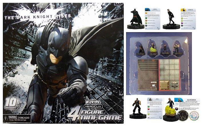 Heroclix Batman TDKR 4 Figure Mini-game Wizkids 10th Aniversary
