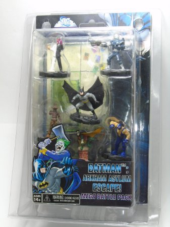 Heroclix Batman Arkhan Asylum Escape! Mega Batle Pack