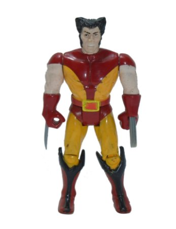 Toy Biz 1991 Marvel Wolverine Uniforme Marrom Loose Vintage