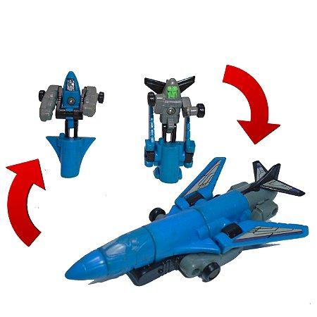 Takara Transformers Micromasters Anti Aircraft Base - Blackout & Spaceshot G1 Vintage Loose