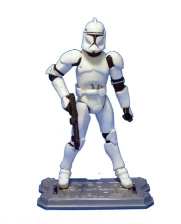 Hasbro Star Wars Clone Wars - Clone Trooper 1 Loose