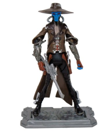 Hasbro Star Wars Clone Wars Animated Cad Bane Loose