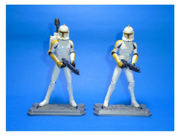 Hasbro Star Wars Clone Wars  - Clone Trooper pack com 02 Loose