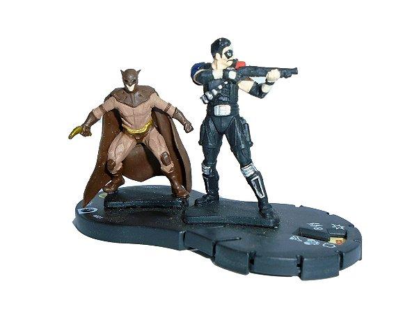 Neca Heroclix Watchmen The Comedian and Nite Nite Owl (Comediante e Coruja) #021