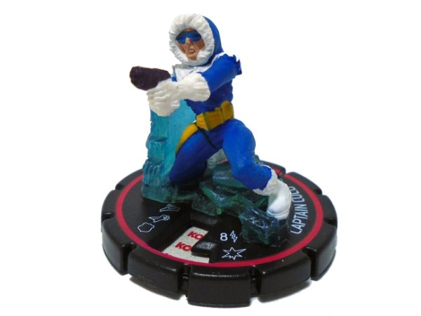 Heroclix Colateral damage Captain Cold (Capitão Frio) #039