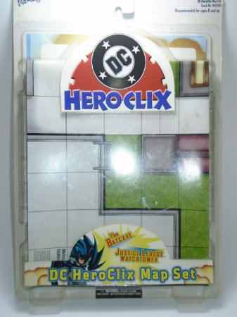 Heroclix DC Map Set Batcaverna e Torre da Justiça