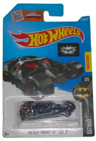 Hot Wheels Dc Batman - Batmóvel TDK 1/64