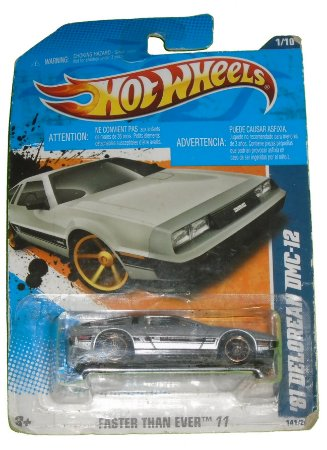 Hot Wheels Delorean DMC-12 1981  1/64