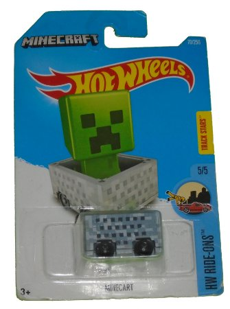 Hot Wheels Minecraft Minecart 1/64