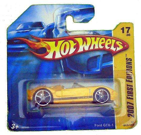 Hot Wheels Ford Gtx-1 1/64