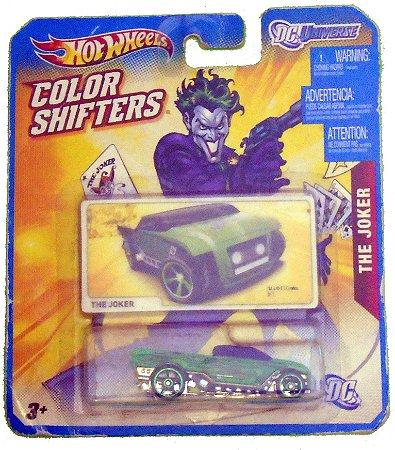 Hot Wheels Color Shifters The Joker 1/64