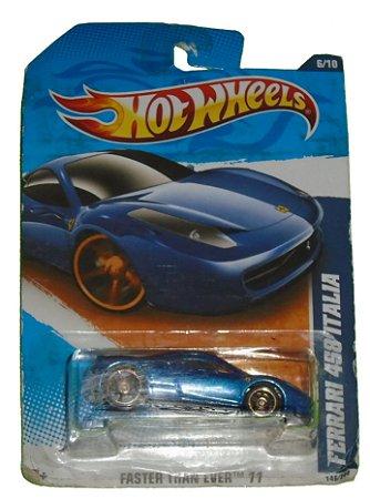 Hot Wheels Ferrari 458 Itália 1/64