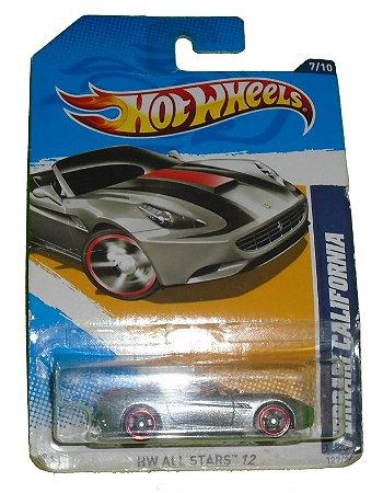 Hot Wheels Ferrari Califórnia All Stars 1/64