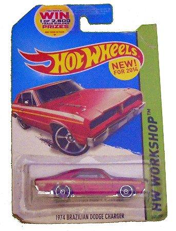 Hot Wheels Brazilian Dodge Charger 1974 1/64