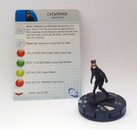 Heroclix Batman TDKR Catwoman (Mulher Gato) #006