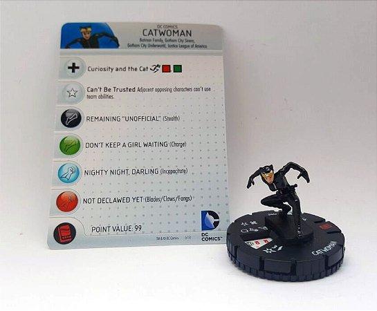Heroclix Batman Arkham Catwoman (Mulher Gato) #002