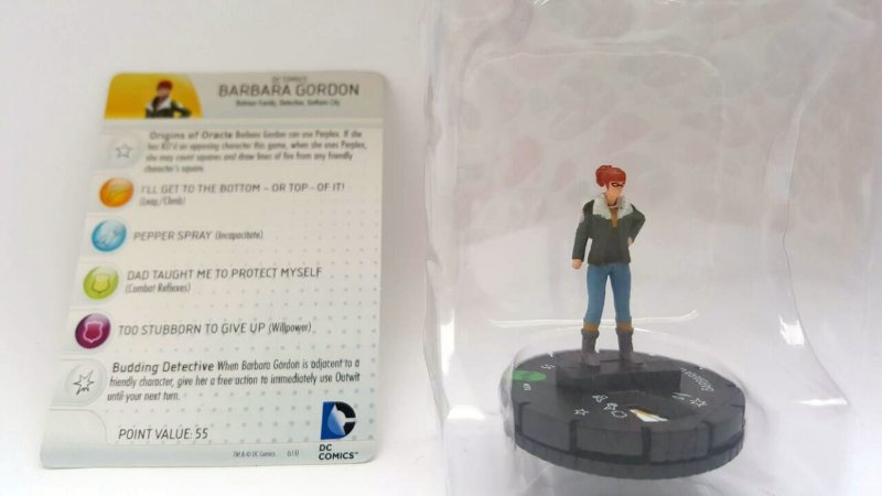 Heroclix Batman Bárbara Gordon #010
