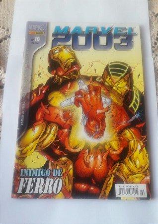 Marvel 2003 #10 Ed . Panini