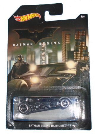Hot wheels DC Batman Begins Batmobile (Batmóvel) 1/64