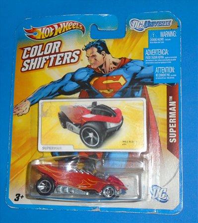 Hot Wheels DC Superman Color Shifters