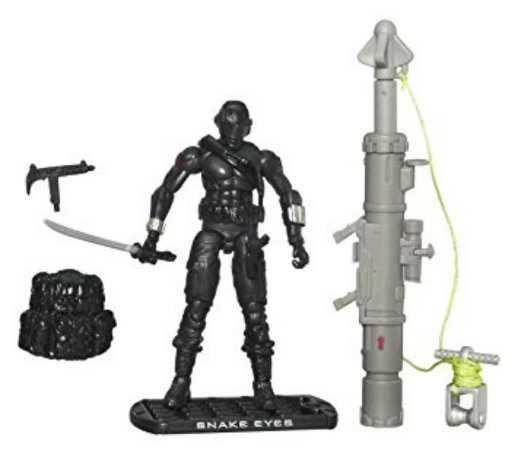 Hasbro G.i.Joe The Rise of Cobra Snake Eyes Ninja Commando Gijoe