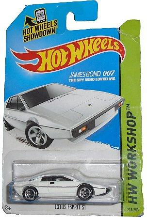 Hot Wheels James Bond 007 Lotus Sprit S1 1/64