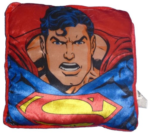 Six Flags DC Almofada 25X27 Superman (Super Homem)