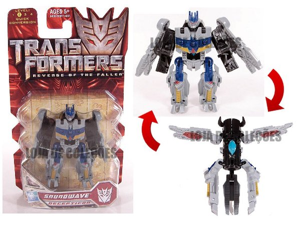 Hasbro Transformers Rotf Soundwave Legend Class Raro