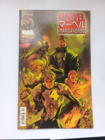 Marvel Mangaverso #2 Ed. Panini
